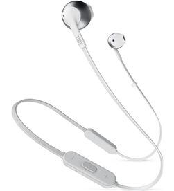 Jbl T205BT WHITE SI t205bt blanco plata auriculares ergonómicos con micrófono integrado con - +20862