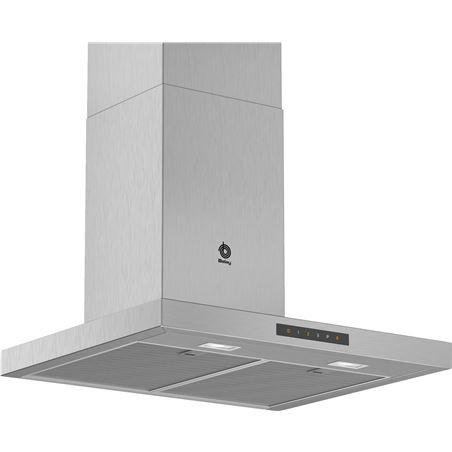 Balay, 3BC967GX, campana, pared rectangular, encastrable, 60 cm, 671 m3/h, - 3BC967GX