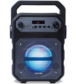 Daewo DBF252 altavoz karaoke bluetooth o dsk-345 fm/usb/sd/micrófono negro - DAEDBF252