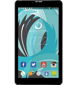Tablet Brigmton ph6 3g 17,78 cm (7'') hd ips 8/1gb negra BTPCPH6N - BRIBTPCPH6N
