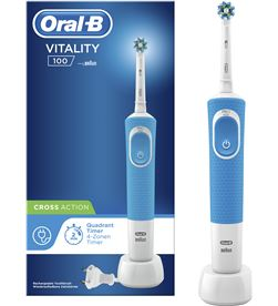 Cepillo dental Braun d100 vitality cross action azul D100CABLAU - D100CABLAU