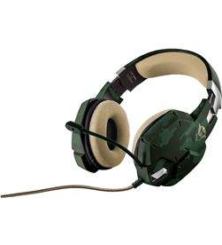 Auriculares con micrófono Trust gaming gxt 322c verde camuflaje - mando de 20865 - TRU-HEADSET GXT 322C