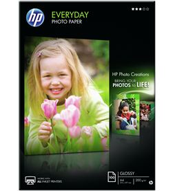 Papel fotográfico con brillo Hp everyday Q2510A - 100 hojas/a4/210*297 mm - Q2510A