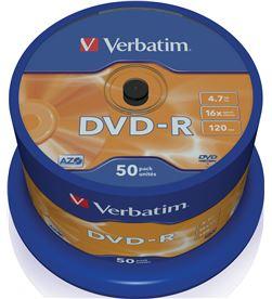 Verbatim B-DVD-R 4.7GB 50U dvd-r advanced azo 16x 4.7gb tarrina 50 unidades 43548 - VERB-DVD-R 4.7GB 50U