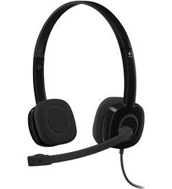 Auriculares diadema con micrófono Logitech h151 - controles integrados en c 981-000589 - LOG-AUR 981-000589