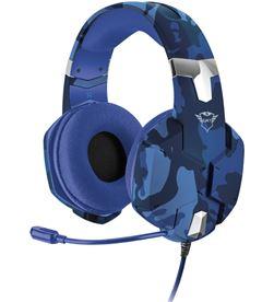 Trust 23249 auriculares con micrófono gaming gxt 322b carus - drivers 50mm - micr - TRU-AUR 23249