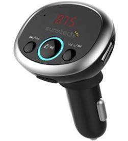 Sunstech -MP3 CAR FMT300BTUSB transmisor fm/mp3 bluetooth para coche fmt300btusb black - 12/24v fmt300btusbbk - SUN-MP3 CAR FMT3