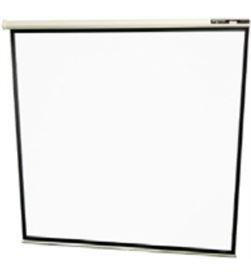Approx -PAN MURAL 180X180 pantalla mural 180x180 alta calidad tela blanco mate bordes negros 3 appp180 - APP-PAN MURAL 180X180