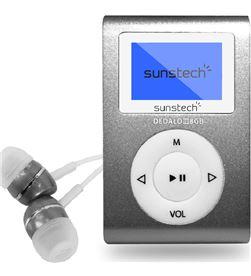 Sunstech DEDALOIII8GBGY reproductor mp3 dedaloiii 8gb grey - pantalla 2.79cm - fm 20 presi - SUN-MP3 DEDALOIII8GBGY