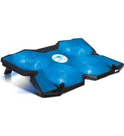 Soporte refrigerador Spirit of gamer airblade 500 blue - para portátiles SOG-VE500BL - SOG-REF AIRBLADE 500 BLUE