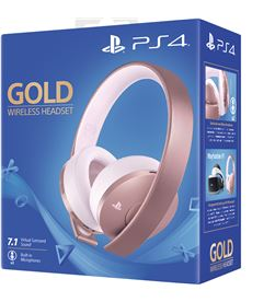 Auriculares inalámbricos Sony rose gold - 7.1 virtual - incluye conector 3 ROSEGOLD WIRELE - SONY-AUR PS4 9969600