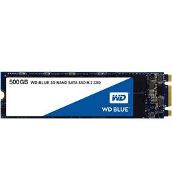 Western WDS500G2B0B disco sólido digital blue 3d nand 500gb - sata iii - m.2 2280 - l - WD-SSD WDS500G2B0B