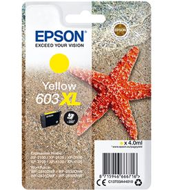 Epson C13T03A44010 cartucho tinta amarillo 603xl - 4ml - estrella mar - compatible según - EPS-C13T03A44010