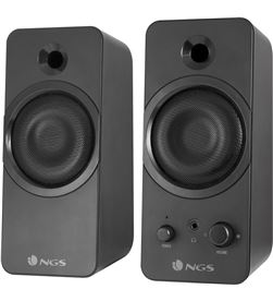 Ngs GSX-200 altavoces gaming 2.0 - 20w rms - supergraves - jack 3.5mm para - NGS-ALT GSX-200