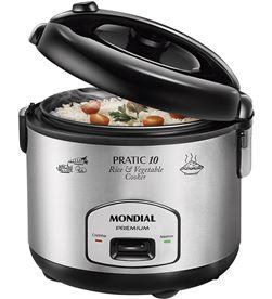 Hervidor arroz Mondial PE01 pratic10 inox 1,8l Hervidoras / Cocedoras al vapor - PE01
