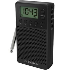Radio digital Brigmton bt 140 am/fm altavoz negro BT140N - BRIBT140N