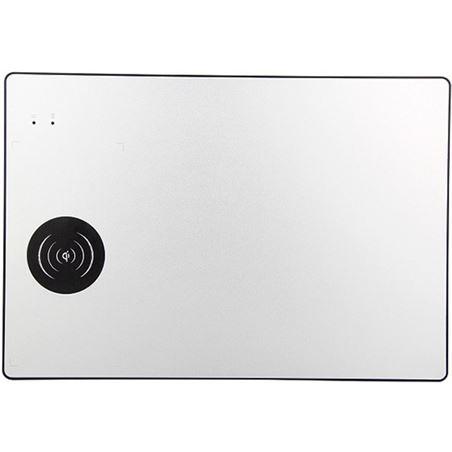 Todoelectro.es alfombrilla con carga inalámbrica subblim 10wal01 plata - 10w qi - entrada sub-mp-10wal01 - 76453942_4853249185