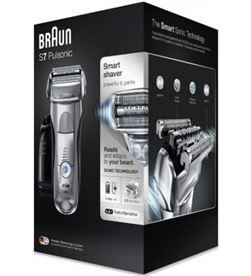 Afeitadora Braun series 7-7790cc pulsonic wet and dry silver - 5 modos de a 166849 - BRA-PAE-AFE 7-7790CC