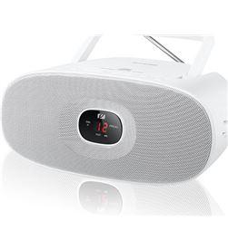 Muse md-202 rw blanco radio cd portátil cd-rw fm/am con altavoz integrado MD202RDW - +21854