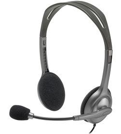 Logitech 981-000593 auriculares diadema con micrófono h111 - cómodos y reversibles - c - LOG-AUR 981-000593