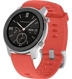 Xiaomi reloj inteligente huami amazfit gtr 42mm coral red - pantalla 3cm amoled - w1910ty5n - HMI-RELOJ GTR W1910TY5N