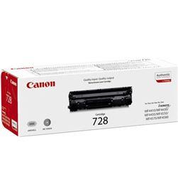 Canon -728A toner negro 728 - 2100 páginas - compatible con modelos según especif 3500b002 - CAN-728A