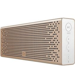 Altavoz bluetooth xiaomi mi speaker gold - 2x3w - dRivers 36mm - func. mano QBH4104GL - XIA-ALT BT SPK GOLD