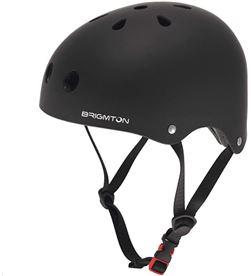 Casco para scooter Brigmton bh1 negro BH_1_N Patinete eléctrico - BRIBH_1_N