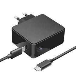 Cargador usb tipo-c Trust 23418 para apple macbook (air/pro) - 61w - cable - TRU-CAR 23418