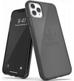Todoelectro.es carcasa adidas original protective clear case big logo black compatible con 36410 - ADI-FUNDA 36410