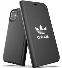 Todoelectro.es funda adidas original booklet case basic black compatible con iphone 11 36284 - ADI-FUNDA 36284