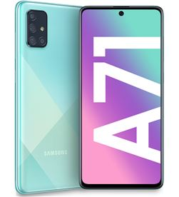 Smartphone móvil Samsung galaxy a71 blue - 6.7''/17cm - cam (64+12+5+5)/32mp A715 DS BL - SAM-SP A715 DS BL