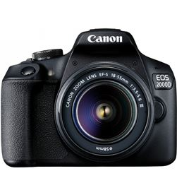 Canon 2728C057AA reflex eos2000d 18-55dc+ bolsa+sd+limpiador+tarjeter eos 2000d kit - 8714574664125