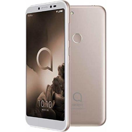 Smartphone m?vil Alcatel 1s 5024f metallic gold - 5.5''/13.97cm - oc - 4gb 5024F-2DALWE2 - ALC-SP 5024F MGOLD