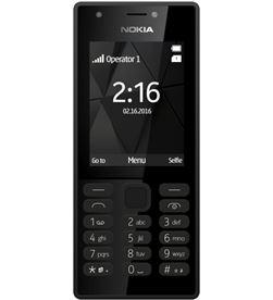 Teléfono móvil Nokia 216 black - display 2.4''/6.7cm - cámara 0.3mpx - A00028039 - NOK-TEL 216 BLACK