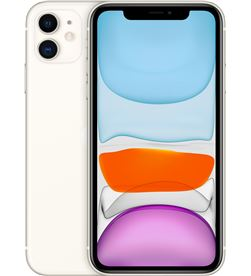 Apple movil iphone 11 6,1'' 128gb white mwm22ql_a Terminales telefono movil smartphone - MWM22QLA