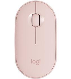 Ratón inalámbrico Logitech pebble m350 rosa - 1000dpi - 3 botones - conecti 910-005717 - LOG-MOU P M350 RS