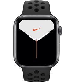 Apple watch nike series 5 gps 44mm caja aluminio gris espacial con correa a MX3W2TY/A - APL-WATCH S5 MX3W2TYA