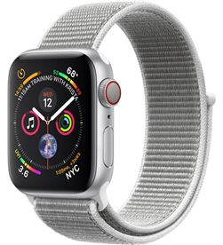 Apple watch series 4 gps cellular 40mm caja aluminio plata con cor MTVC2TY/A - APL-WATCH S4 MTVC2TYA