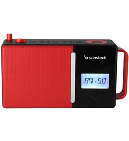 Radio portatil Sunstech RPDS500RD bluetooth usb roja - RPDS500RD
