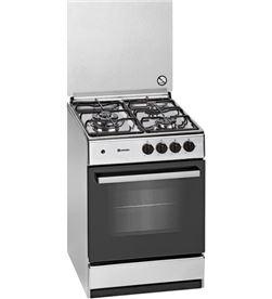 Cocina gas Meireles G540X 3 zonas acero inoxidable gas butano - 5604409146847