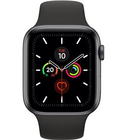 Apple watch series 5 gps 44mm caja aluminio gris espacial con correa negra MWVF2TY/A - APL-WATCH S5 MWVF2TYA
