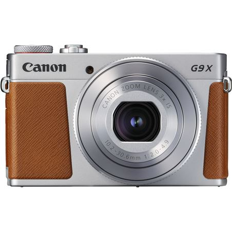 Canon POWERSHOT G9 X mark ii plata cámara compacta 20.2mp digic 7 wifi nfc - 35542993_9540010735