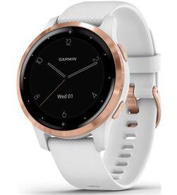 Reloj fitness con gps Garmin vivoactive 4s blanco con hebilla goldrose - 010-02172-22 - GAR-RELOJ 010-02172-22