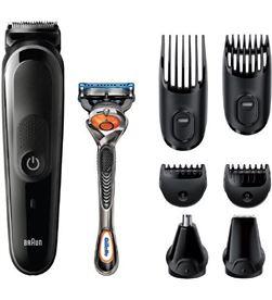 Braun MGK5260 recortadora de barba y cuerpo 8 en 1 con 6 accesorios y maqui - 4210201281757