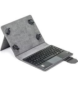Todoelectro.es funda tablet universal con teclado bluetooth touchpad maillon city mtkeybluetouchc - MAILMTKEYBLUETOUCHCB