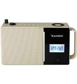 Sunstech RPDS500BR radio portatil bluetooth usb marron - 8429015019005