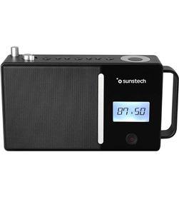 Radio portatil Sunstech RPDS500BK bluetooth usb negra - 8429015018985
