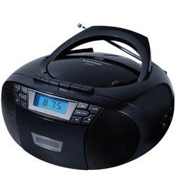 Radio cd Sunstech CXUM53BK usb mp3 negra Radio y Radio/CD - 8429015018954