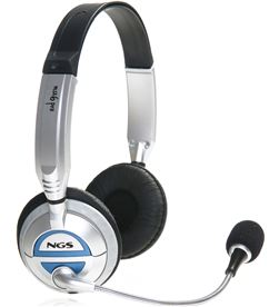 Ngs MSX6PRO auricularesmicro plata/negro Auriculares - MSX6 PRO